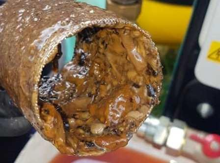 narrowboat fuel filter clogged with diesel bug